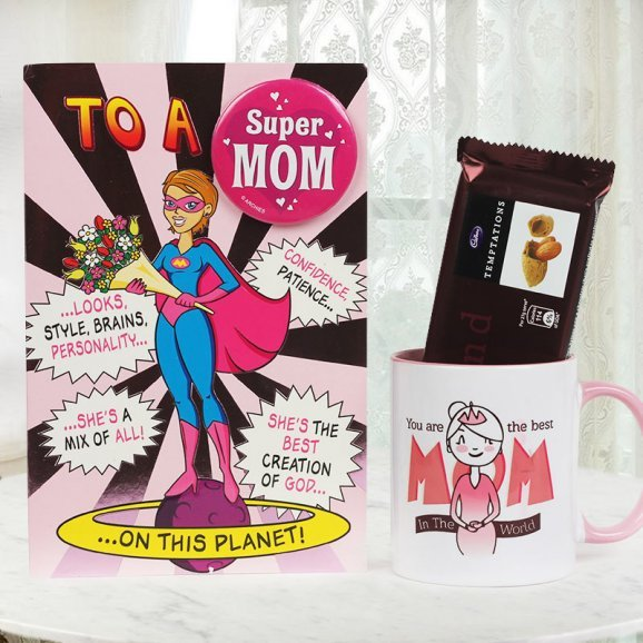 Super Mom Combo - A Mothers Day Special Gift