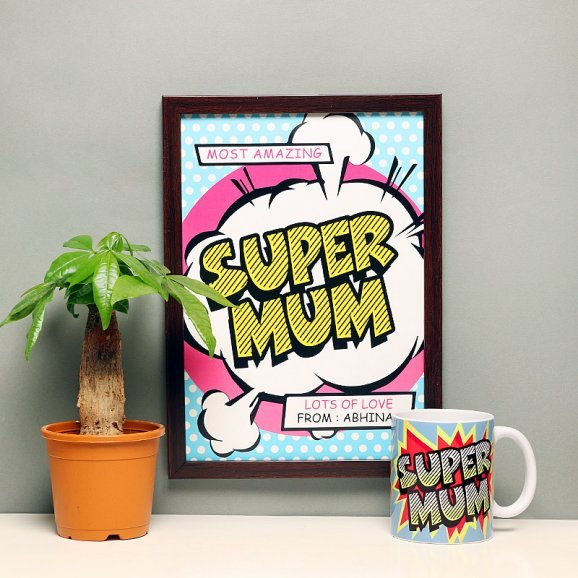 Supermom Pack - A Mothers Day Gift Set for Mom