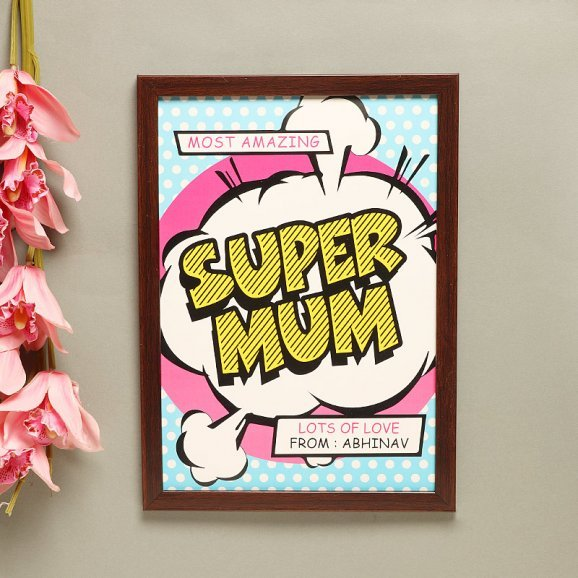 Zoom View of Poster in Supermom Pack