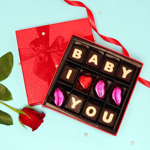 Baby I Love You Handmade Chocolates