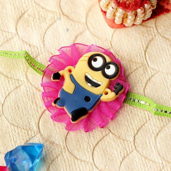 The Minion Rakhi for Brothers Online