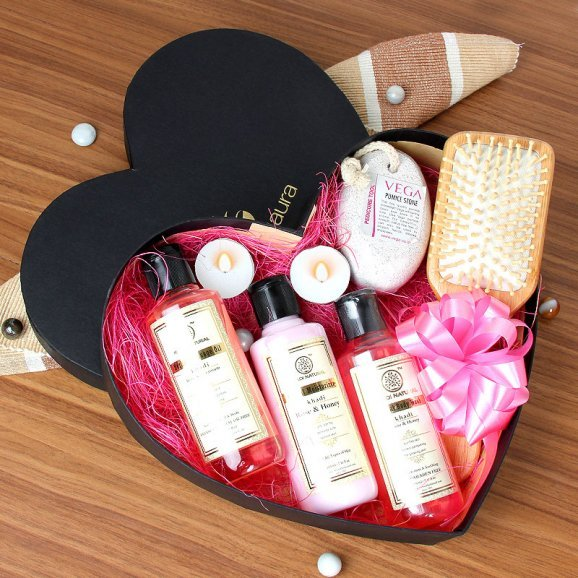 A Gift Hamper of Spa Products