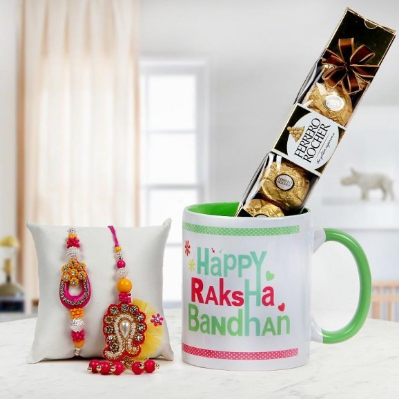 Rakhi to Sweetest Bhaiya-Bhabhi