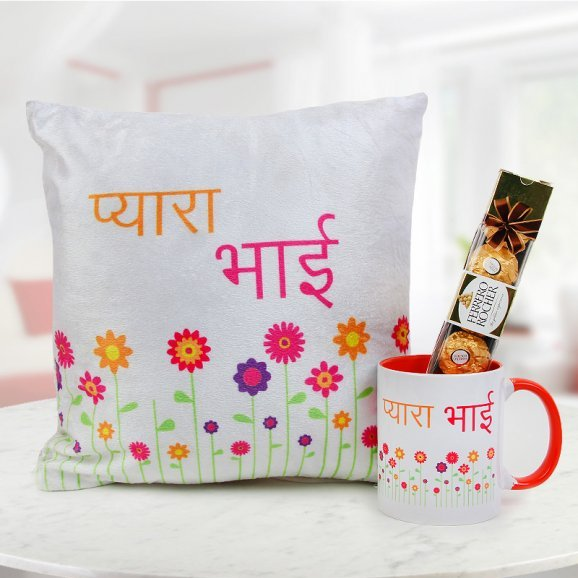 Gift traditional bhai hamper to your brother