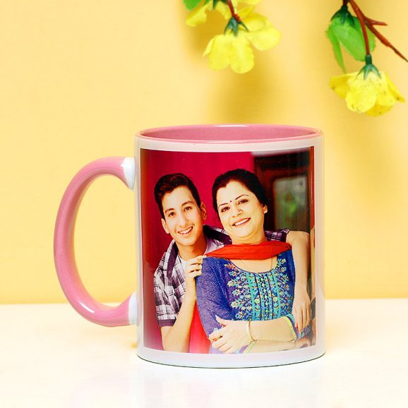 Front View of Personalised Mug