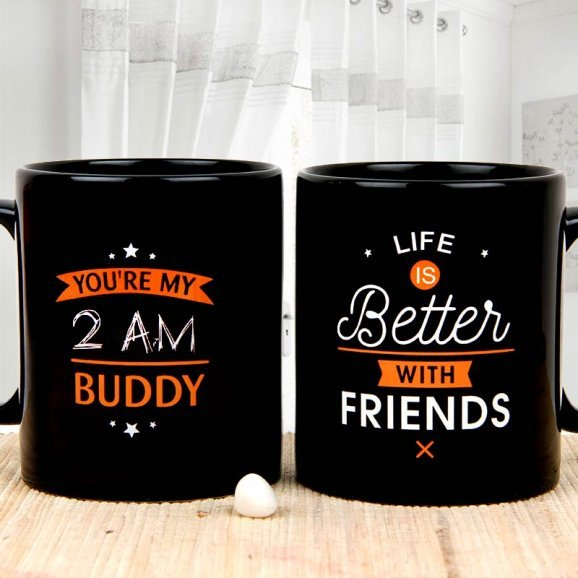 Vow of Friendship Friendship Day Mug with Both Views