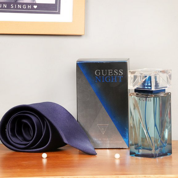 Guess Night Perfume with a Tie