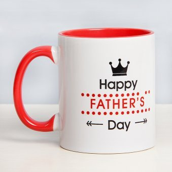 Fathers Day Mug with Back Side View