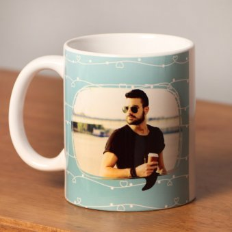 Personalised Blue Mug for Boys