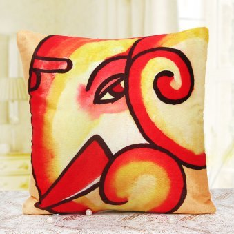 Cushion Gift, Send Gift Online, Order Gift Baskets, Ganesh Cushion
