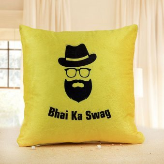 Bhai ka Swag Printed Cushion