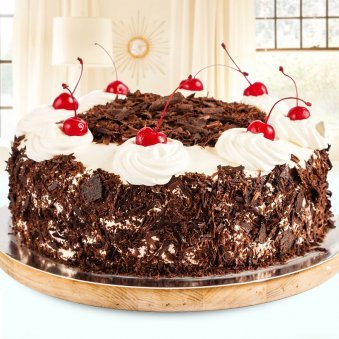 Utopia of Black Forest - 1/2 Kg Cake