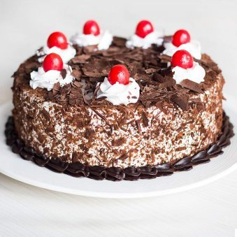 Choco Black Forest Fresh whipped creamy - for online delivery in Chennai