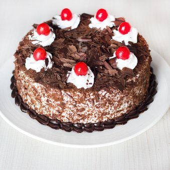 Choco Black Forest Fresh whipped creamy - for online delivery in Bangalore