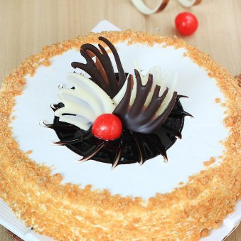 Tempting Butterscotch Celebrate your today - for online delivery in Gurgaon