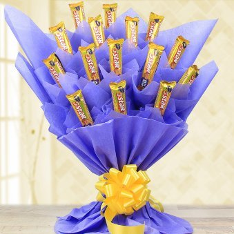Twinkle choco bouquet - A chocolate bouquet gift