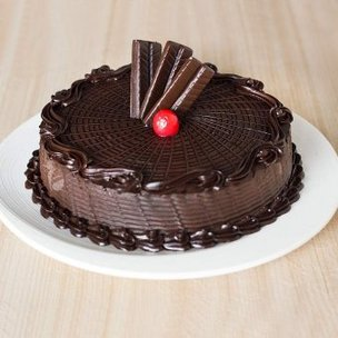 Chocolate Truffle Cake