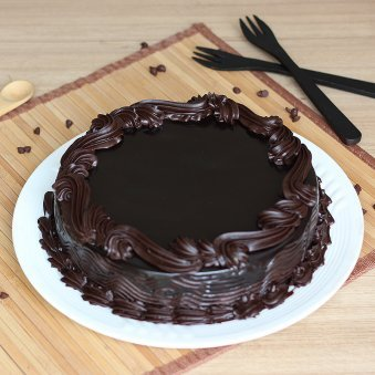 Dark Choco Black Forest Cake in Normal View