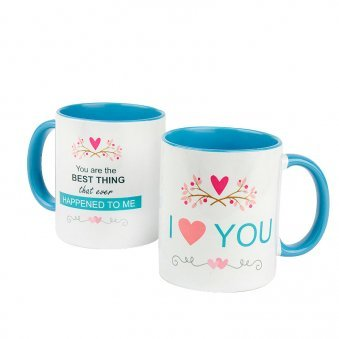 I Love You Mug with Both Both Sided View
