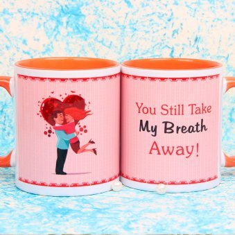 You Still Take my Breath Away Couple Mug