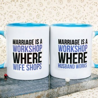 Work Shop Couple Mugs