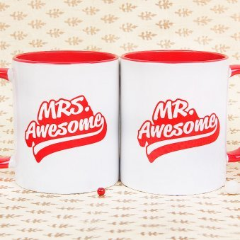 Couple Mugs - Mr. And Mrs. Awesome Mugs