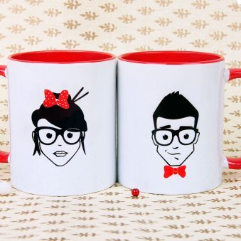 Couple Mugs - Mr. And Mrs. Awesome Perfect Mugs
