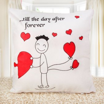 Cute Couple Cushion for Boy