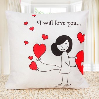 Cute Couple Cushion for Girl