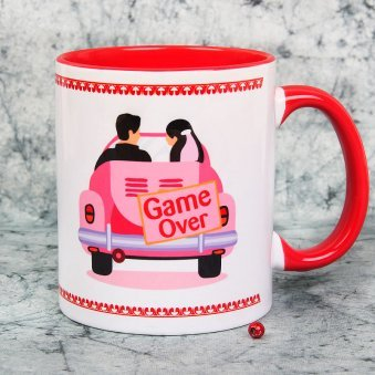 Couple Mugs - Game Over Mug