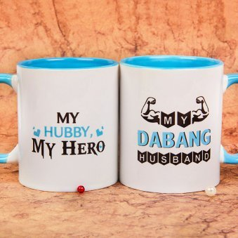 Dabang Husband Mug with Both Sided View