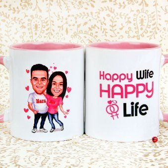 Fun Times Couple Mug with Both Sided View