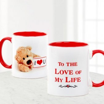 Love Teddy Mug