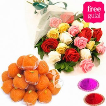 12 mix roses and mooti choor ladoo