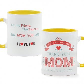 Thank you Mom Mug with Both Sided View