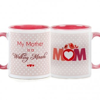 Walking Miracle Mug for your Mother with Both Side View