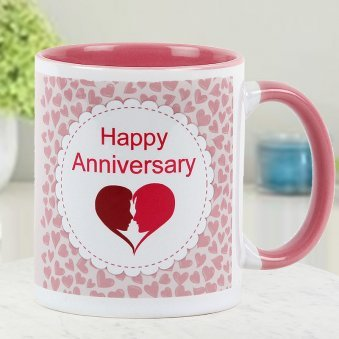 Happy Anniversary Couple Mug