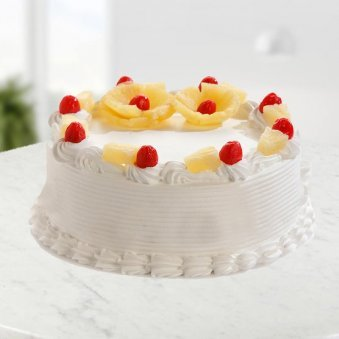 Pineflower Cake Freshly prepared all occasions - for online delivery in Chennai