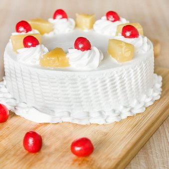 Pineapple Cake For Any Celebration - for online delivery in Gurgaon