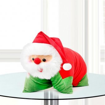 A Soft-toy Santa Pillow