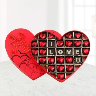 Valentine gift - Tempting Love Chocolates