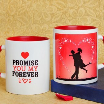 Promising You Forever Mug with Both Sided View