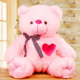 Huge pink teddy