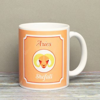 Personalised Mug For Aries People
