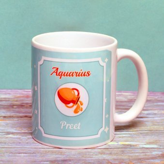 Personalised Mug for Aquarius People