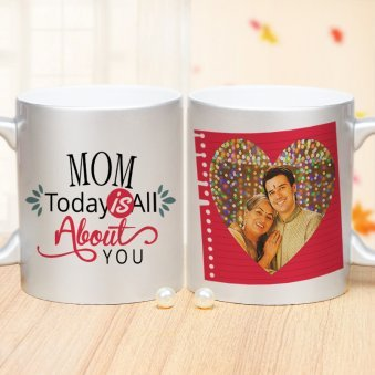 All About You Mug - A Personalized Mug for Mom