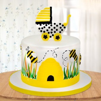 Baby Bee Cake For Kids