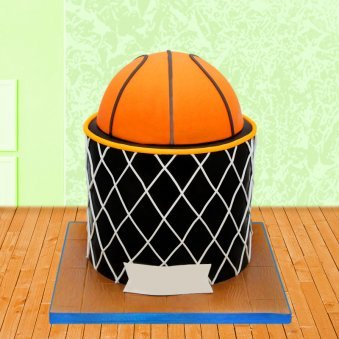 Basketball Cake For Basketball Lovers
