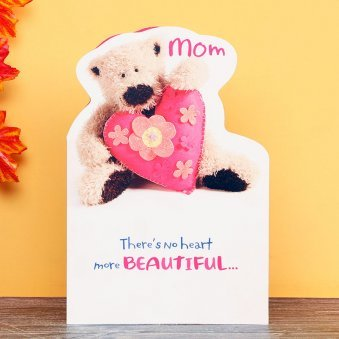 Love You Lots Greeting Card for Mom