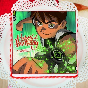 Ben 10 Photo Cake For Kids
